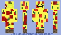 Derpy Pizza Minecraft Skin