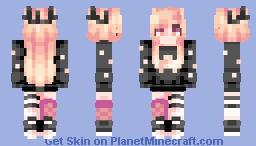 """☆ βενεℜℓγ ☆  """"Lacking all emotion.. staring down the barrow, waiting for the final gates to open.."""" Minecraft Skin"""