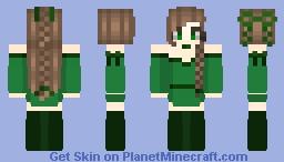 Kiwi remade Minecraft Skin