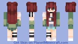 Dafununbean - Assistant of Ruby Fang Minecraft Skin