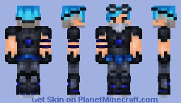 Cyberpunk Male ver. ~ Request Minecraft Skin