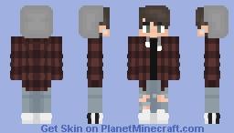 Plaid Hoodie Minecraft Skin