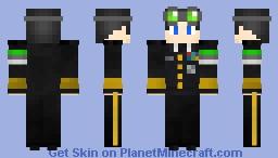 Admiral Prophet Minecraft Skin