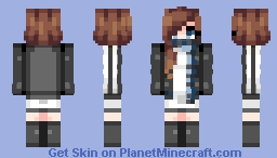 """Please use Discretion When You're Messin' With the Message Man."" -OC Dove Winter Evans Minecraft Skin"