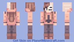 Punk skele Minecraft Skin