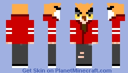 Vanoss :O Minecraft Skin