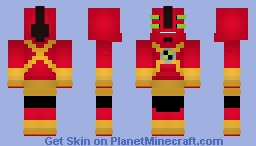 Four Arms - Ben 10 Ultimate Alien Minecraft Skin