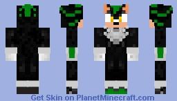 Oblivious the hedgehog Minecraft Skin