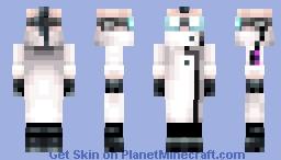 Professor Membrane Minecraft Skin