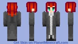 Axel - All but Kingdom Hearts 1 Minecraft Skin