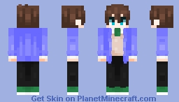 it be me, after like a century Minecraft Skin