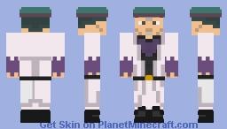 Telence T. D'arby - JoJo's Bizarre Adventure Minecraft Skin