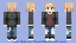 Punk dude Minecraft