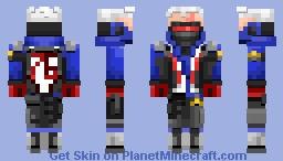 Soldier 76 - Overwatch Minecraft Skin