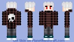 §Kenny White§ [ρικλ-βδγ] Minecraft Skin