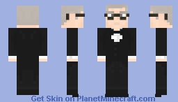 Alfred Pennyworth (1989) Minecraft Skin