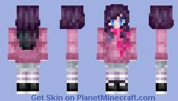 мιтzєн - Neon Minecraft Skin