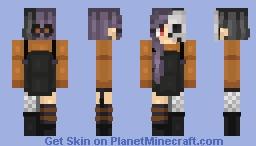 Happy Halloween! Minecraft Skin
