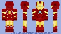 Iron Man Mk III Minecraft Skin