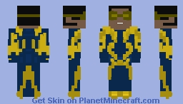 Black lightning-injustice 2 fighter pack 2 Minecraft Skin