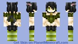 ◊Witch's Cat◊ [Halloween Skin] Minecraft