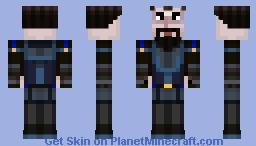Ivor Ninja (Minecraft Story Mode) Minecraft Skin
