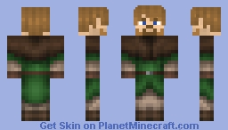 Medieval Levy - [Gweni Peasant Leather Armor] Minecraft Skin