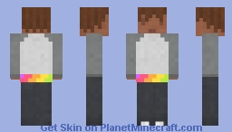 Pride Sweatshirt and T-shirt Minecraft Skin