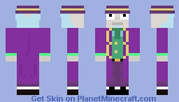 Rick and Morty Tales from the citadel: Willy Wonka Rick Minecraft Skin