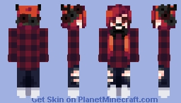 - Shiro - OC Minecraft Skin