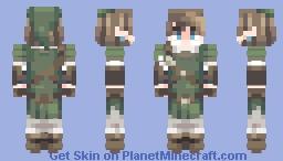 ♦◊ Link | The Legend Of Zelda Twilight Princess ◊♦ Minecraft Skin