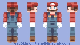 ☆ βενεℜℓγ ☆  Super Mario  (+ Luigi in Desc) Minecraft Skin