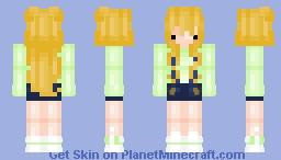 I'm back! Minecraft Skin