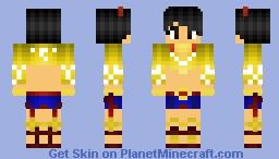Josie Rizal from Tekken 7 Minecraft Skin