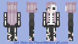 floral skelly Minecraft