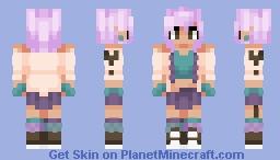 ♥σkα cσlα♥ There's nothing more awesome than being who you are Minecraft Skin