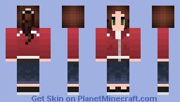 Zoey, from the Left 4 Dead Series Minecraft Skin
