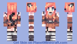St w. Angel_15 Minecraft Skin