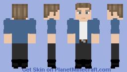 Steve Rogers Minecraft Skin