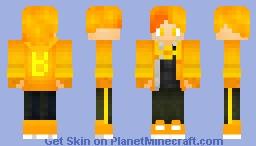 Butter Farron (OC) Minecraft Skin