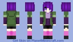 Tokyo Ghoul Touka Minecraft Skin