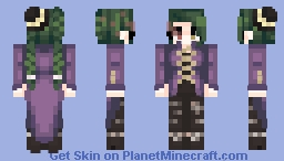skintober day 3 // which witch is this witch? Minecraft Skin