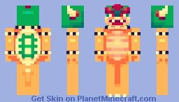 King Bowser Koopa Minecraft