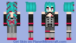 The disease? 2D Dream Fever! Minecraft Skin