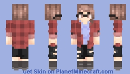 "♪𝕰𝖘𝖎𝖊♪ ""Everyone we know and love will simply cease to exist"" // Req Minecraft Skin"