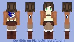 Attack on titan lolita style Minecraft Skin