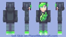 Black // Request Minecraft Skin