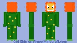 Cuphead - Cagney Carnation Minecraft Skin