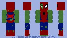 Spider-Hulk | Robert Bruce Banner Minecraft Skin