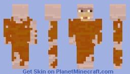The Montauk Monster Minecraft Skin